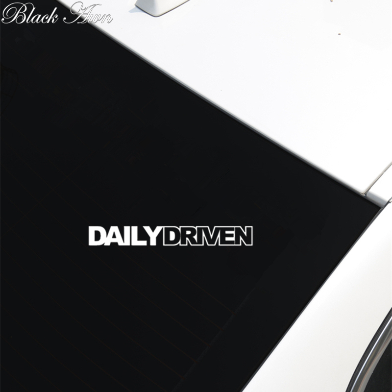 Daily Driven stance lowered drift jdm car sport vinyl sticker