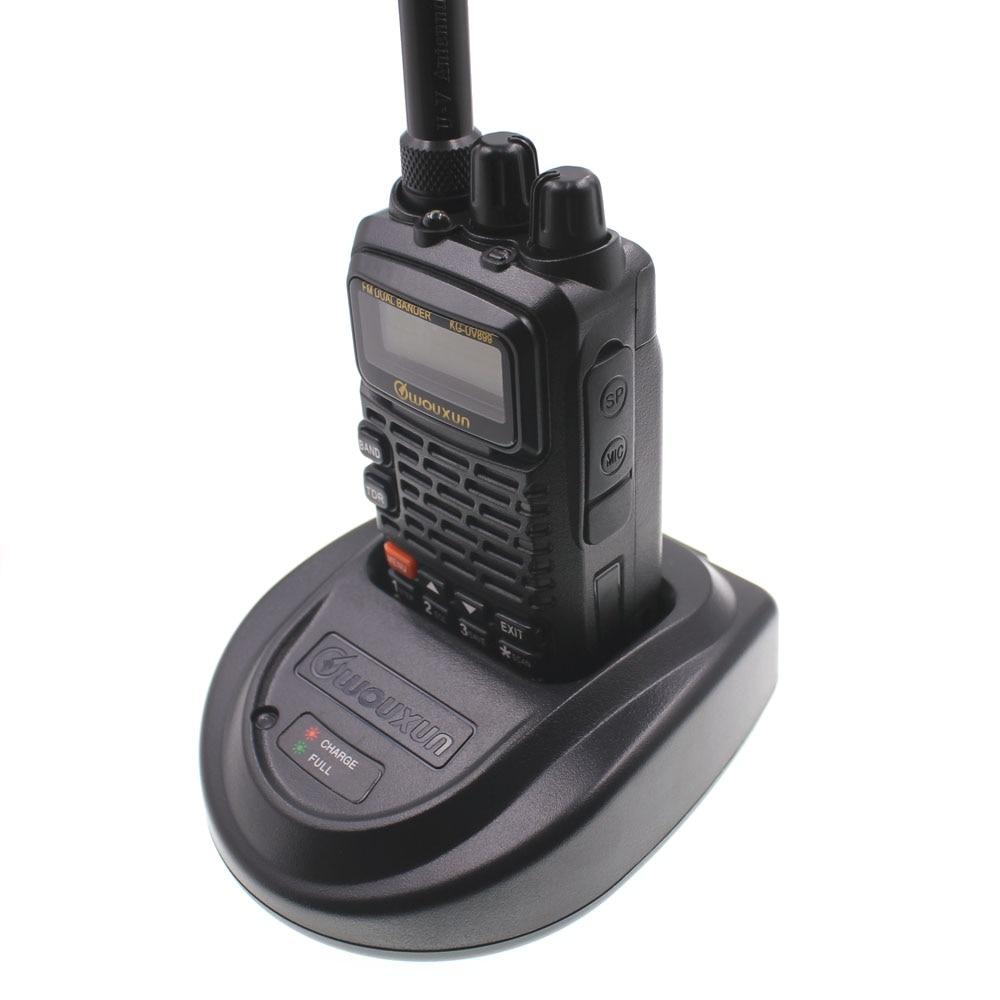 Καλύτερη τιμή Wouxun KG-889 VHF / UHF αδιάβροχο διπλής όψης Walkie Talkies ζαμπόν 2 δρόμων ραδιόφωνο φορητό CB ραδιόφωνο handheld δέκτες