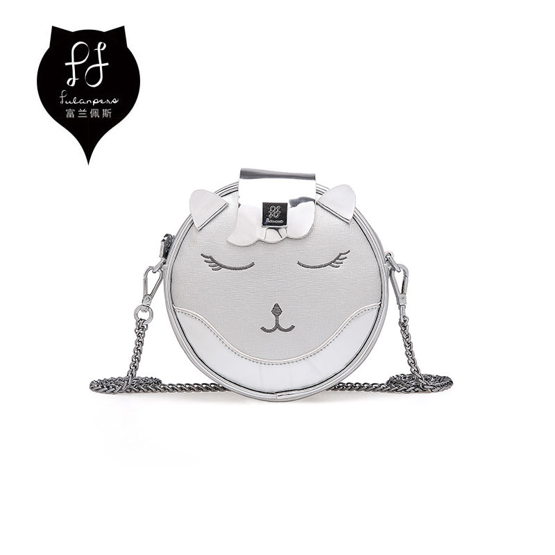 FULANPERS Cat Design Mini Shoulder Bag For Women 2017 Female Handbag Chain Messenger Quilted Leather Crossbody Bag For Girls velour beauty women design handbag chain shoulder bag mini small velvet crossbody satchel female messenger bags gift for girls
