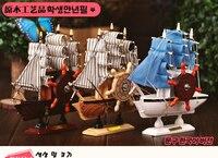 The Creative Wooden Sailing Action Model Windmill Mediterranean Wind Music Box Craft Gift Children Good Wishes