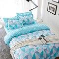 Cama 3D Define Nova Moda Poliéster Algodão King size roupa de cama crianças 4 pçs/set Vover Duvet Set