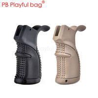 Fashion CS accessory AGR 43 rear grip is applicable toy water bullet gun (M16/M4/AR15/HK416) tactical nylon grip best gift LI46
