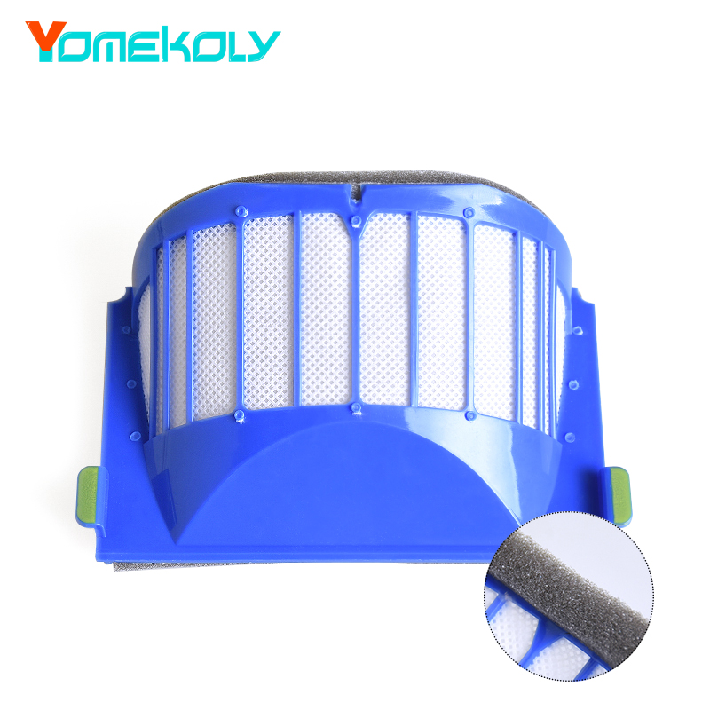 AeroVac Filter for irobot Roomba 500 600 Series 528 552 564 595 610 615 620 625 630 650 660 670 Vacuum Cleaning Robots Parts bristle brush flexible beater brush fit for irobot roomba 500 600 700 series 550 650 660 760 770 780 790 vacuum cleaner parts
