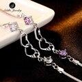 Original Siddhi 925 Sterling Silver Bracelet Ball Chain Bangle Wedding Love Fine Jewelry Wristband Elegant Bracelets for Women
