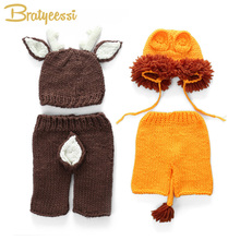 Crochet Props Newborn Hand