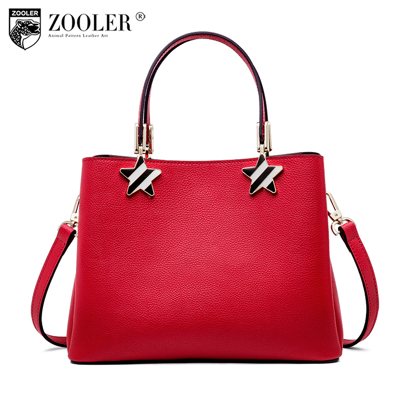 NEW ZOOLER woman leather bags for wedding luxury handbags bags woman famous brand designer shoulder bag bolsa feminina P113 new zooler woman leather bags stars pattern luxury handbags bags woman famous brand designer shoulder bag bolsa feminina p113