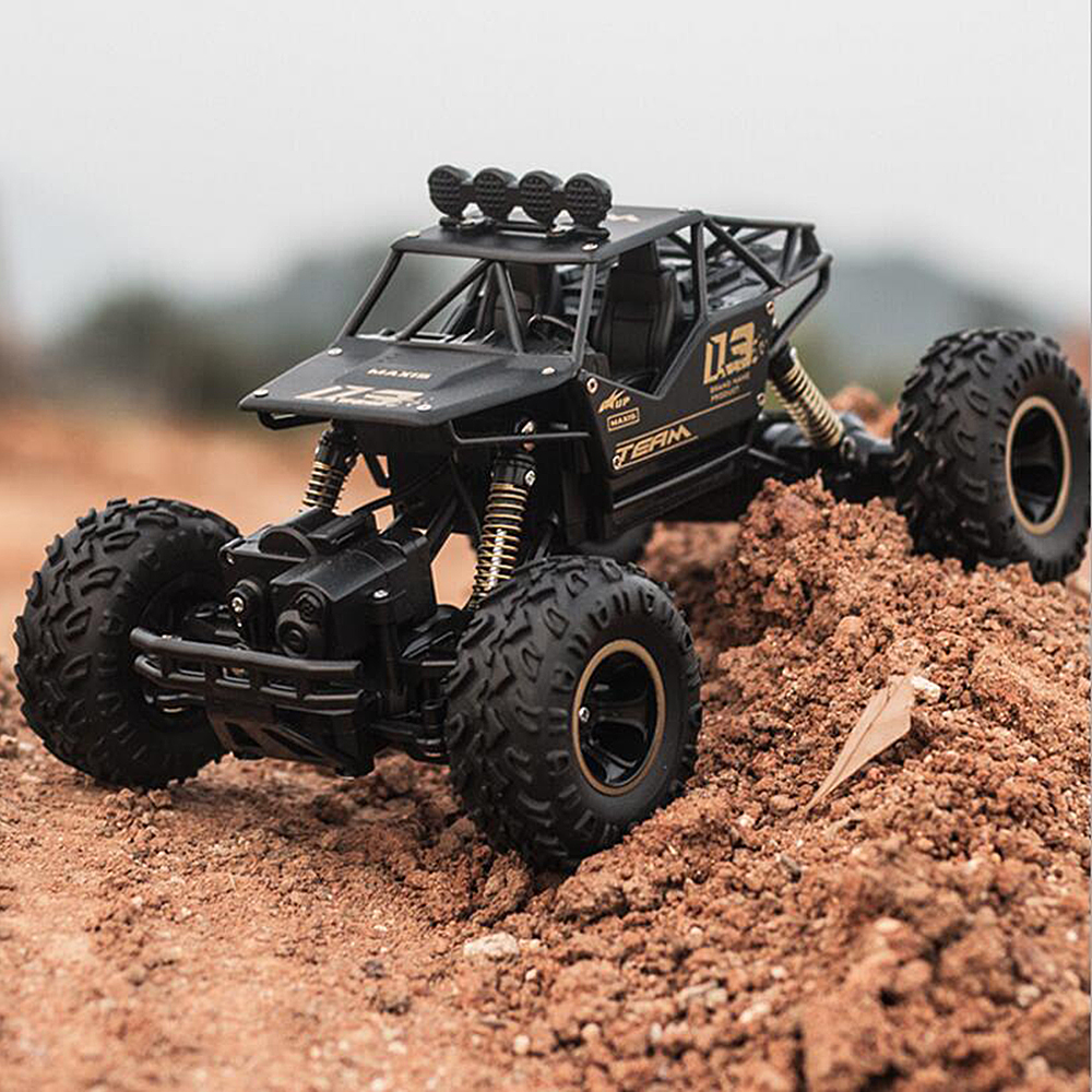 Kids Suprise Gifts 4WD <font><b>RC</b></font> Truck Rock Crawlers Double <font><b>Motors</b></font> high horsepower Vehicle Toy Remote Control <font><b>Car</b></font> toys for children image