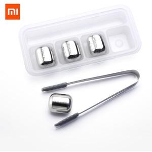 Image 5 - Xiaomi Vòng Tròn Niềm Vui Kem 304 Thép Không Gỉ Có Thể Rửa Được Tái Chế Sử Dụng Nhanh Chóng Làm Lạnh Máy Làm Đá Cho Rượu Vang Corks Trái Cây