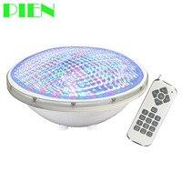 Oferta Luces subacuáticas IP68 LED Piscina Par56 Luz de Piscina RGB 12V bombilla para fuente 24W con