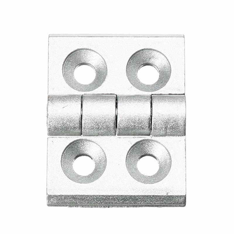 SULEVE Новый 1 шт. 4040 алюминиевый профиль разъем шарнир из цинкового сплава для 4040 алюминиевый профиль экструзии Рама шкафа Аппаратные средства
