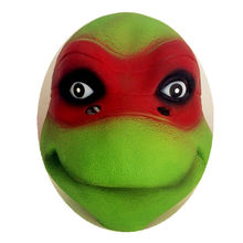 Tmnt 7 costume 4 Type Teenage Mutant Leo Rap Mike Don Mask maske animal tortoise wigs child halloween Ninja Turtles toy цена
