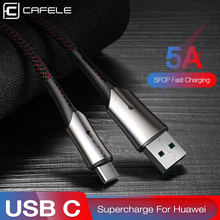 CAFELE Type C USB Charging Cable 5A Fast Charging Cable for Huawei Mate 20 Pro Samsung Xiaomi Oneplus Phones Data Sync Cables цена и фото