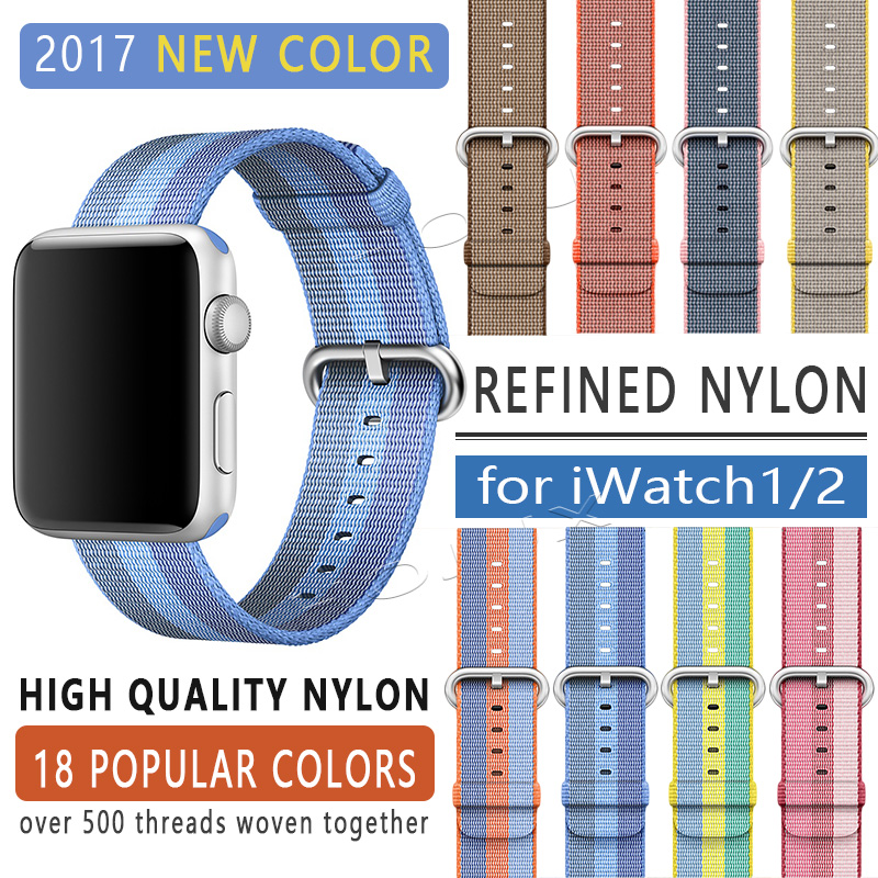 fohuas-2017-band-for-apple-watch-series-1-2-woven-nylon-band-fabric-like-feel-strap-for-iwatch-colorful-pattern-classic-buckle