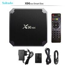 Saltado  X96mini Android 7.1 X96 mini Smart TV BOX S905W Quad Core support 2.4G