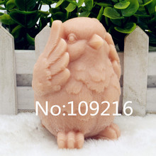 New Product!!1pcs 3D Chicken Covers His Face (zx197) Food Grade Silicone Handmade Soap Mold Crafts DIY Mould