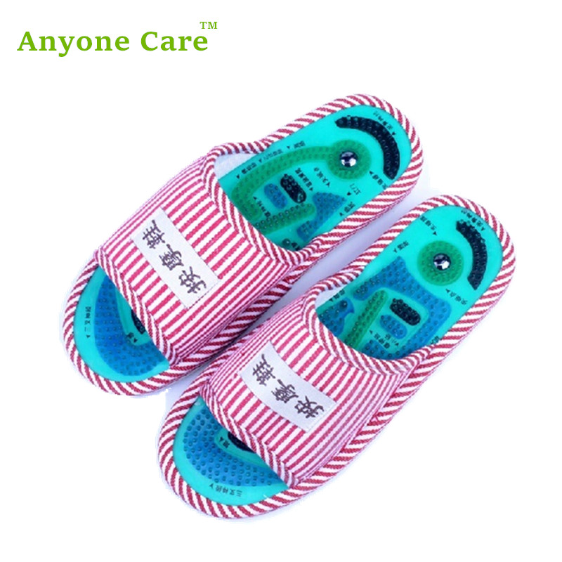Health care Taichi acupuncture massage slipper men and women's foot massage slippers free shipping обувь для легкой атлетики health 160