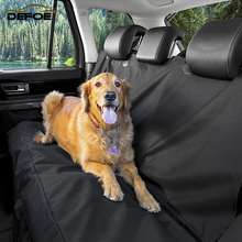 Big size Waterproof Car Pet Seat Cover Dog car back seat cushion pet golden hair labrador dog pad mat trunk