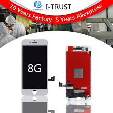 Pantalla LCD Original para iPhone 8, repuesto de lente de repuesto de calidad OEM con digitalizador táctil, 10 Uds.
