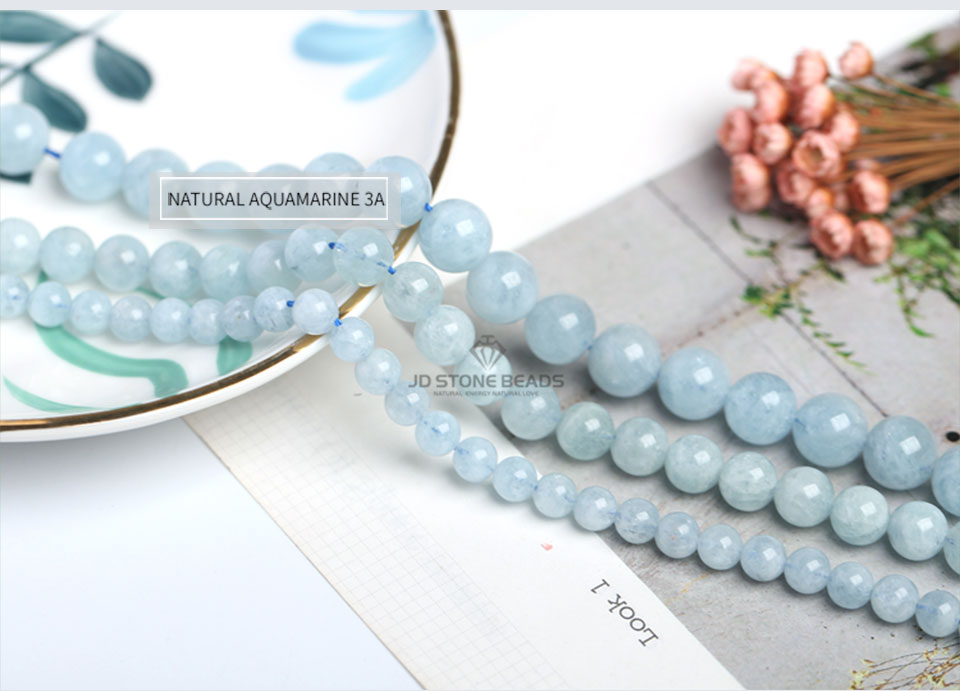 HTB1ByyUXtzvK1RkSnfoq6zMwVXaX 4 6 8 10 12 mm Natural Aquamarine loose Beads Free Shipping Faceted Blue Pick Szie  DIY Accessory Gemstone For Jewelry Making
