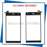 For WIKO Getaway Touch Screen Digitizer Assembly Black Color 100% Guarantee Mobile Phone Touch Panel With Free Tools
