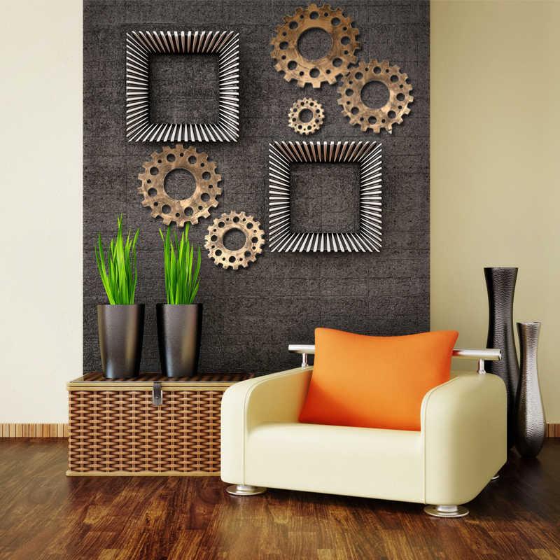 בציר ישן בר קפה הילוך קיר קישוט סלון אירופאי בית תעשייתי רוח קיר קיר קישוט