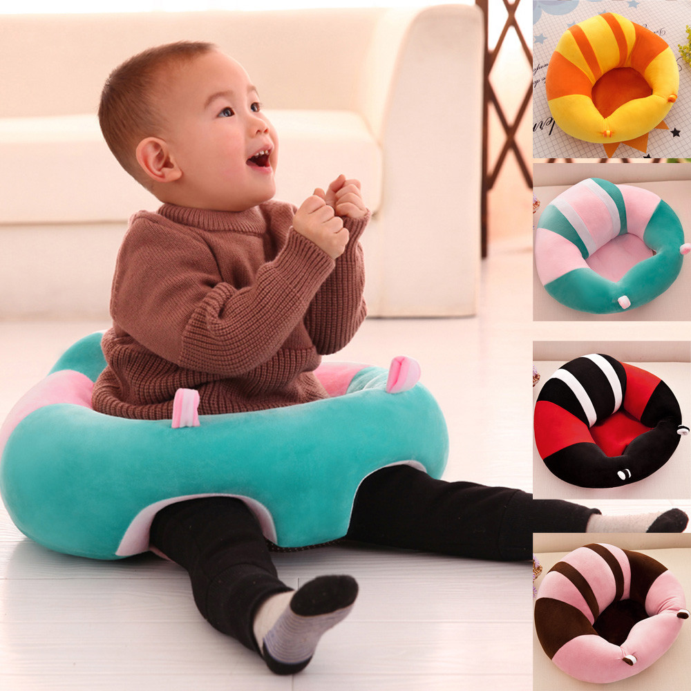 New High Quality Nursing Pillow U Shaped Cuddle Baby Seat Infant Safe Dining Chair Cushion Patchwork Warm Elasticity Soft Cotton