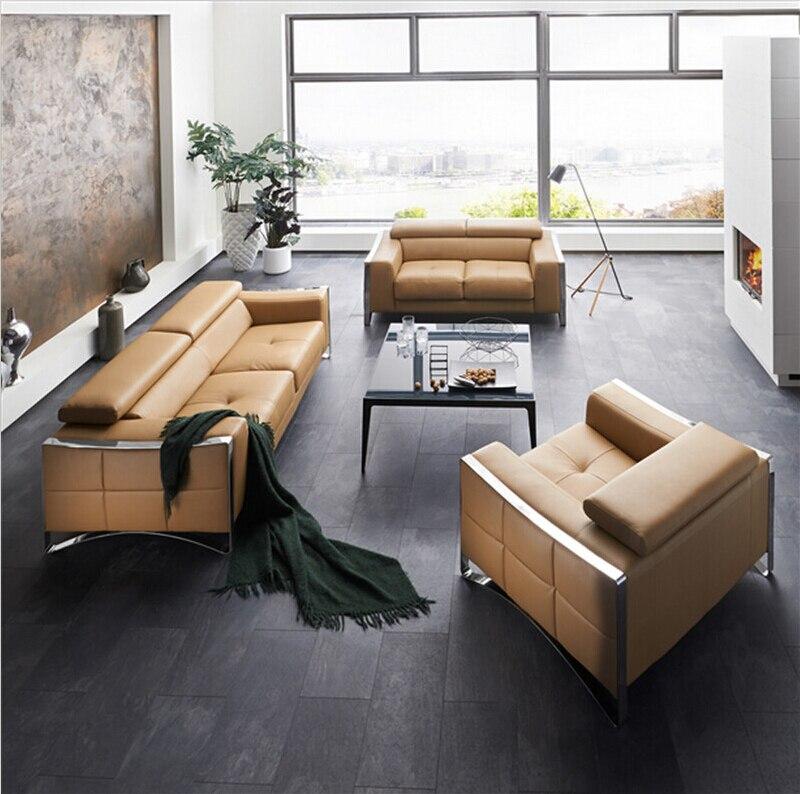 Modernes Sofa Set Ledersofa Mit Designs Fr Sitzgruppe Wohnzimmer MbelChina