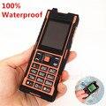 100% ip67 impermeable a prueba de choques del teléfono móvil dual sim mp3 teléfono celular polaco ruso idioma h-mobile aole