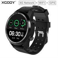 XGODY KC03 4G GPS Smart Watch Wifi Women Men Sport Heart Rate Tracker Fitness Bracelet IP67 Waterproof Android 6.0 Smart Band