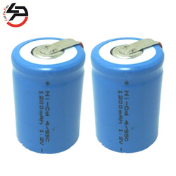 4/5SC battery Rechargeable Batteria cell 1.2V 1200mAh 4/5SubC batteries power bank SC accumulator 2 Pack