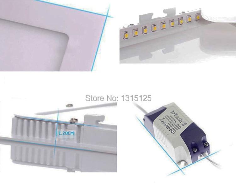 18w жарық диодты панельдің төменгі - LED Жарықтандыру - фото 6