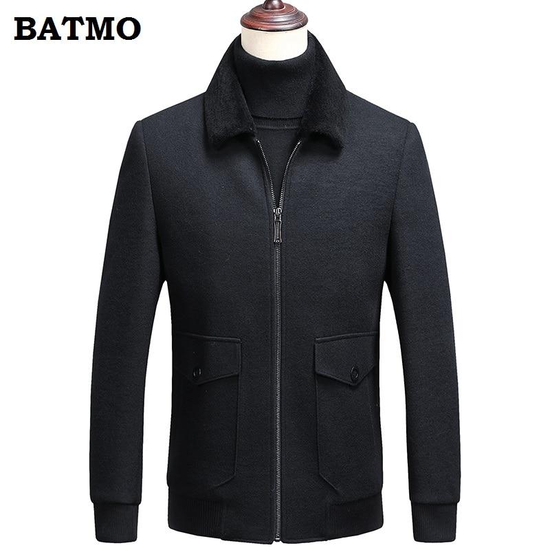 Hommes Qualité green Black De 2018 Thicked 18602 Nouvelle Batmo D hiver  Chaud Vestes Plus Manteau ... d70c0fc32b14