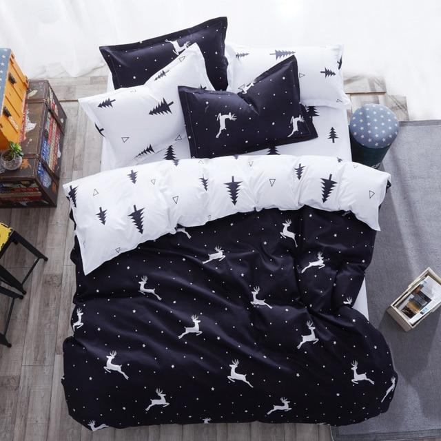 США российских постельного белья для маленьких детей постельное белье 2/7 шт постельные принадлежности twin King Queen Размеры постельное белье олень 140x200 200x200