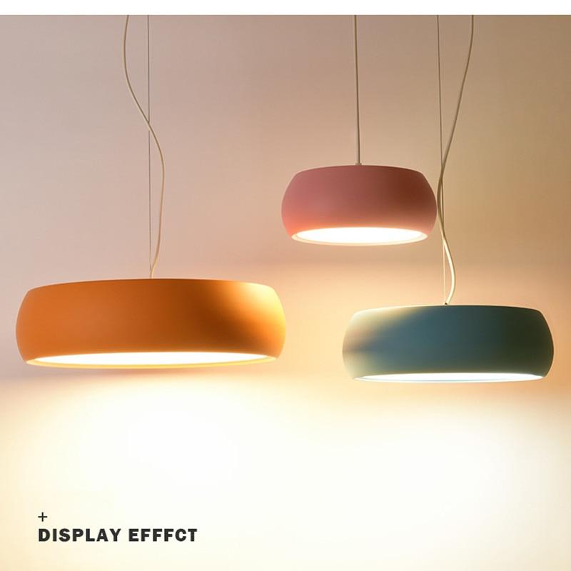 Nordic Macaroons Multicolor Pendant Light Creative Light Lovely Designer Light For Kids Room Free Shipping kale nordic light dj 15x60