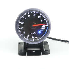 60mm Self-test function Stepper motor Auto Ext Temp Meter Exhaust Gas Temperature Gauge free shipping
