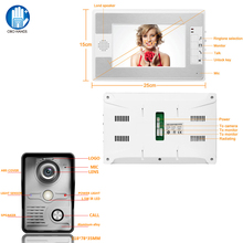 Discount! SY812MKW11 Microscope Camera 7 Inches TFT Screen Hands Free Video Doorbell Intercom Systems With Indoor And Outdoor Units