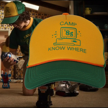 Stranger Things 3 Hat Dustin Cosplay Hats Camp Know Where Stranger Things Costume Props Adjustable Caps 2019 stranger things 3 dustin hat new retro mesh trucker cap camp know where