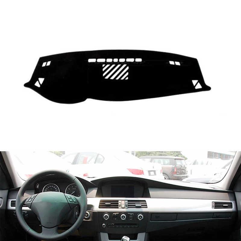 Para BMW 5 series 2004 2005 2006-2010 alfombrilla protectora para salpicadero almohadilla de sombra almohadilla adhesiva interior accesorios de estilo de coche