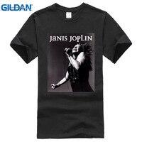 2017 Nowy 100% Bawełna Najwyższej Jakości T Shirt Latem Dorywcza Krótki O-Neck Best Friend Mens Janis Joplin Żywo Koszule