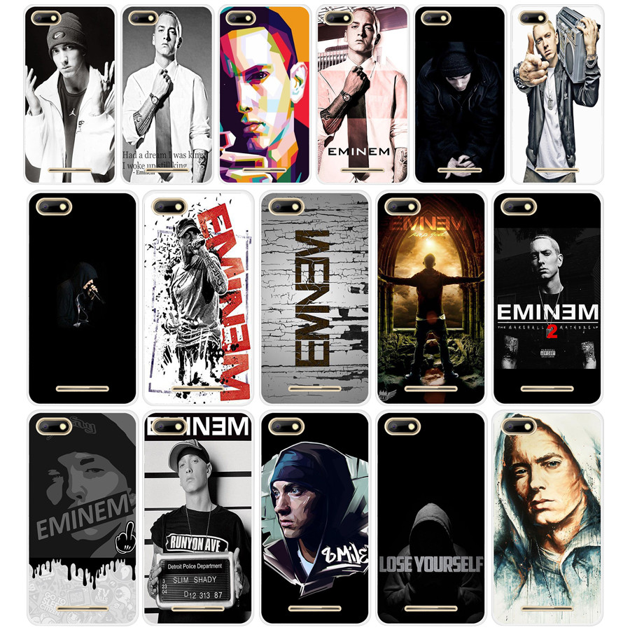 115dd Hop Rapper Eminem Rap Transparent Tpu Silicone Case Cover For Bq Strike 5020 Bq Aquaris X X5 Plus Can Be Repeatedly Remolded.