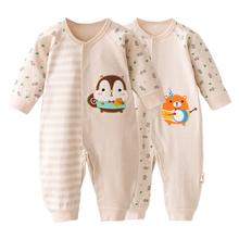 Baby Rompers Spring Baby Girl Clothing Set Cartoon Baby Boy Clothes Newborn Baby Clothes Infant Jumpsuits Kids Clothes все цены