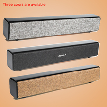 Newest style HIFI Portable Bluetooth Bass Speaker Subwoofer Stereo Sound Bar with Mic USB Amplifiers tv speaker Computer audio