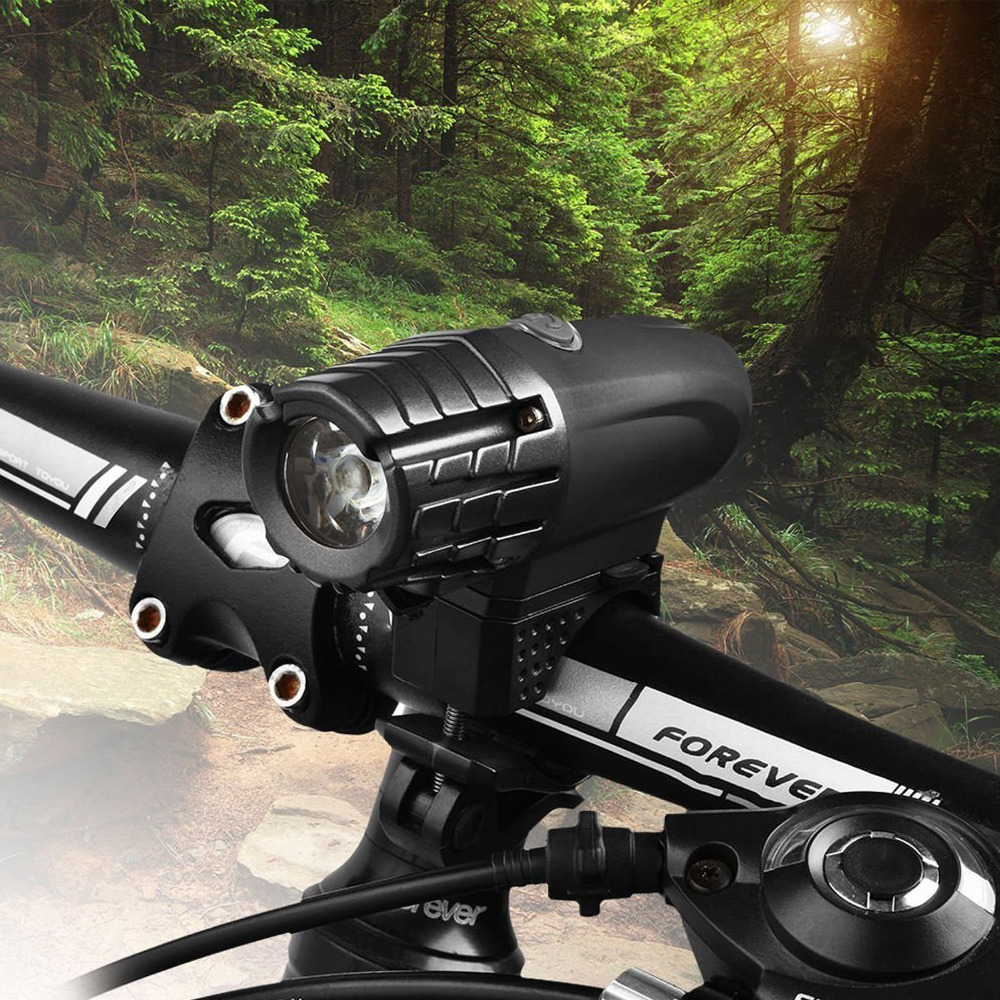 USB Rechargeable LED Bicycle Bright Bike Front Headlight Lamp waterproof
