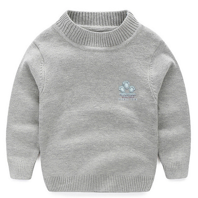 a98bedd17 2017 New Baby Boy Girl Clothes Kids Autumn Winter Knitted Pullovers ...