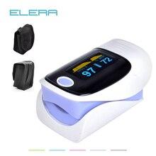 Elera цифровой Oximetro де Dedo де Pulso, палец пульсоксиметр, крови кислородом spo2 pulsioximetro oximetro насыщенность