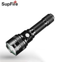 USB Flashlight LED Light Supfire C8 S Lanterna Police XML2 T6 Tactical Torch for Alonefire Sofirn Nitecore Nicron Light S071