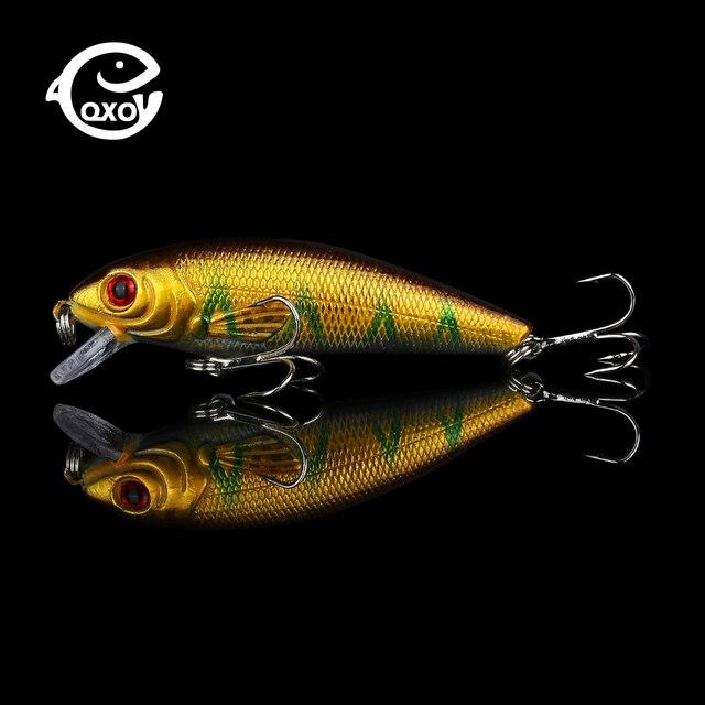 QXO 9g 7.5cm leurre méné métal hiver marchandises dures pour la pêche glace canard crevettes Shad Pva tungstène gabarits sauvage Wobbler engins truite