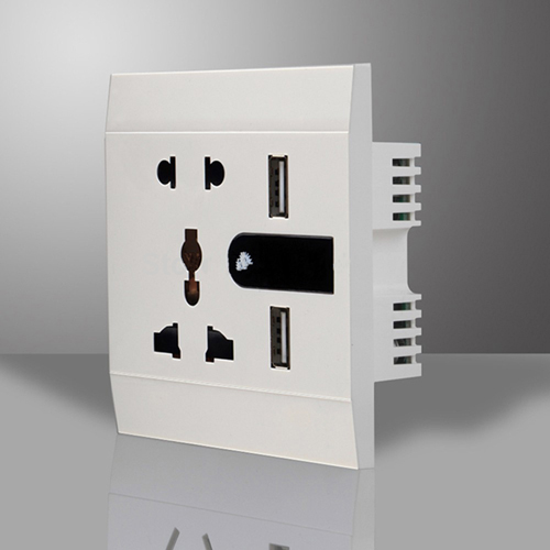 Aliexpress buy new multifunction 5 hole wall outlet flapper aliexpress buy new multifunction 5 hole wall outlet flapper with a led night light twin usb charging socket dc 50v2400ma from reliable wall outlet aloadofball Images