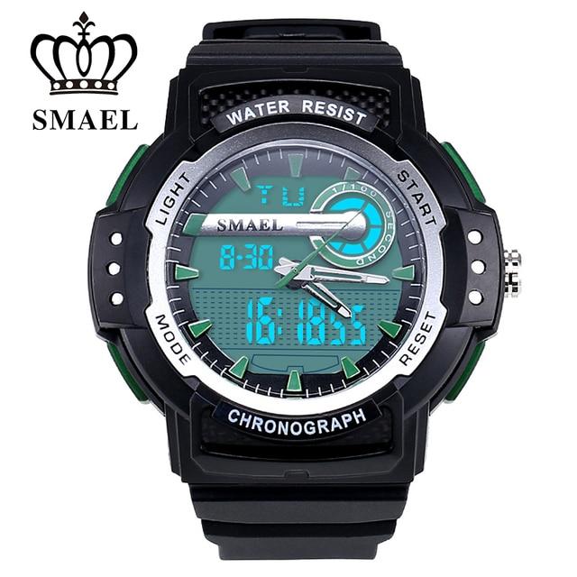 New SMAEL Sport Watches Top Luxury Watch Men Brand Quartz Casual Watch LED Digital Clock Wristwatch Fashion Casual Watch WS1503