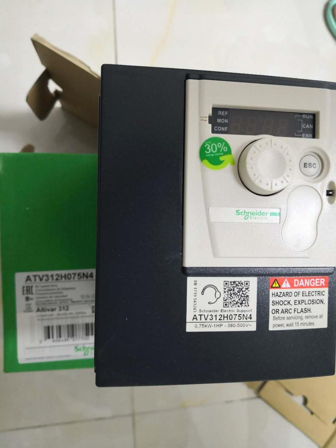 ATV312H075N4 NEW ATV312 Three-phase 0.75KW Converter